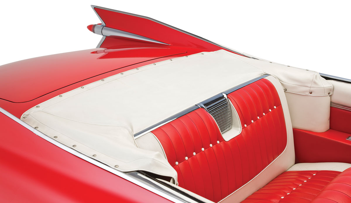 Boot, Convertible Top, 1959-60 Cadillac