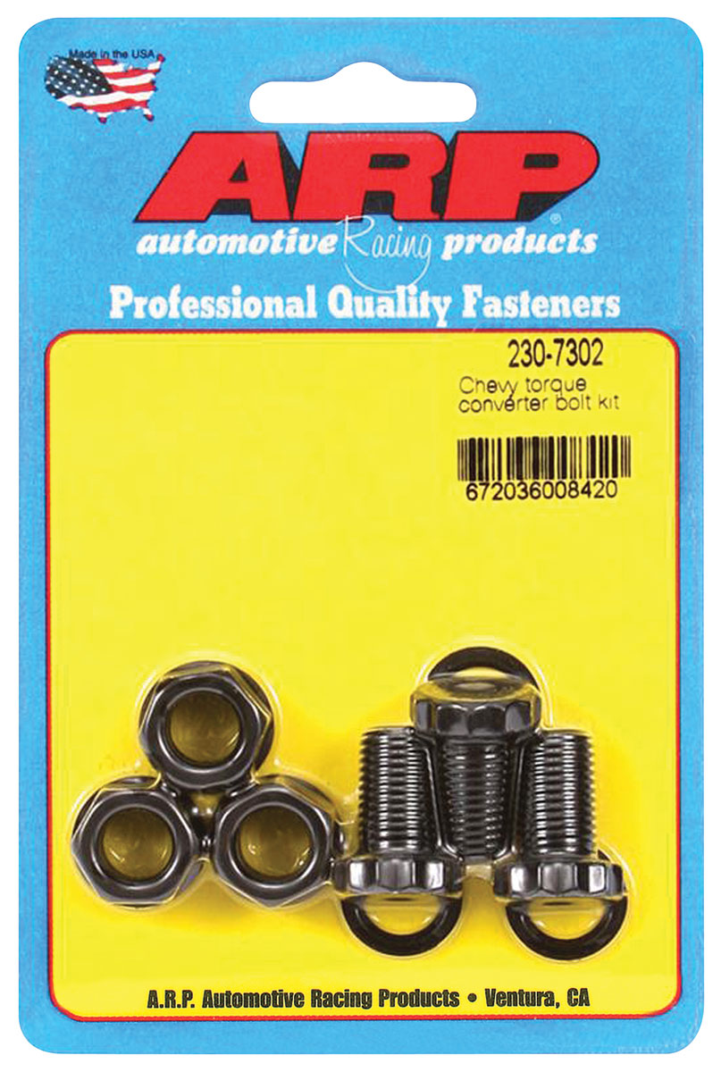 Bolts, Torque Converter, ARP, PG/TH350/TH400, .725