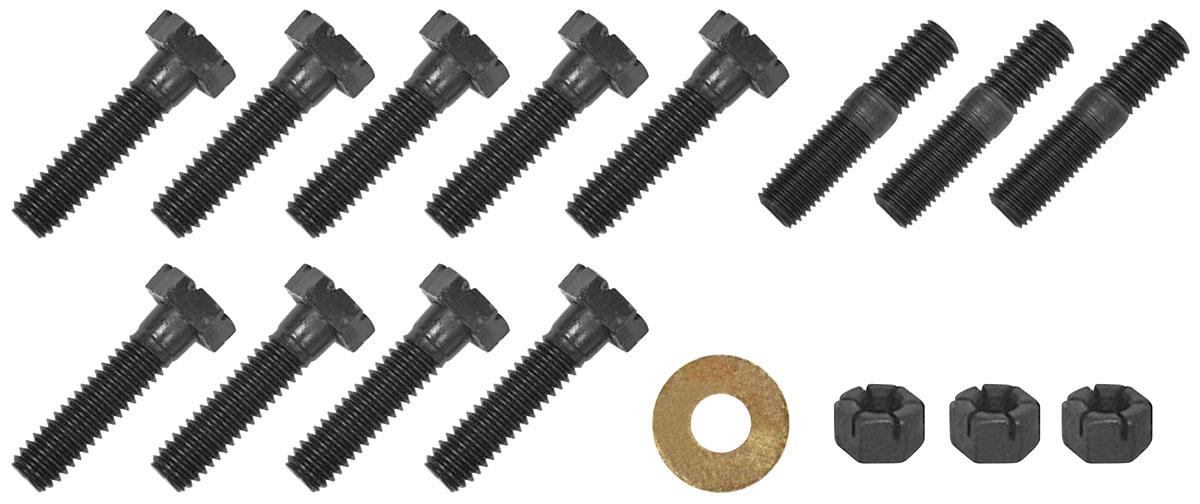 Hardware Kit, 1963-77 Pontiac, V8 Water Pump, Bolts, Studs, Nuts
