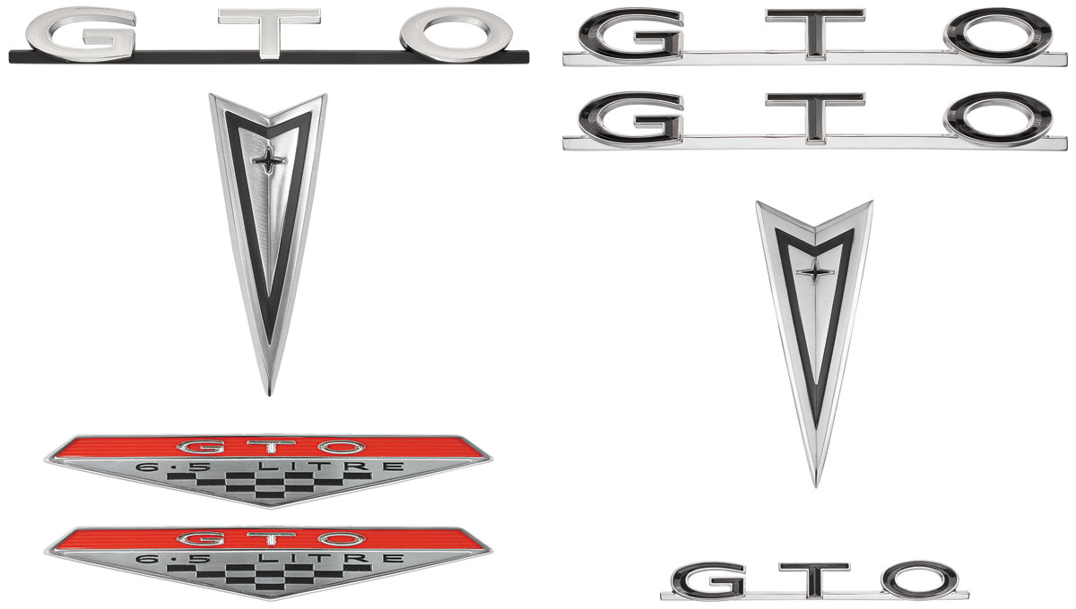 Emblem Kit, 1965 GTO, Exterior