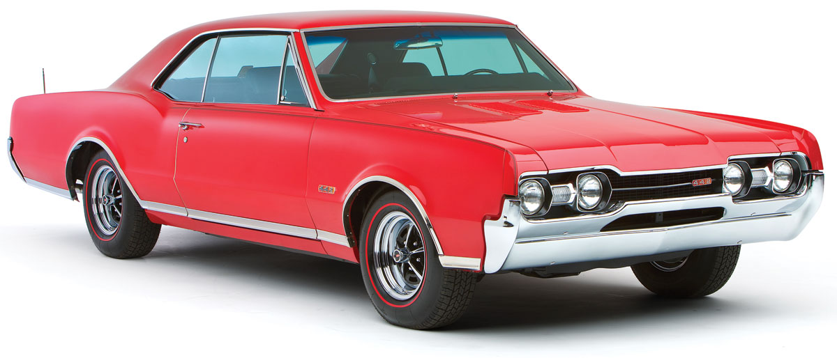 Decal Kit, 1967 Cutlass, Y70 Body Stripes