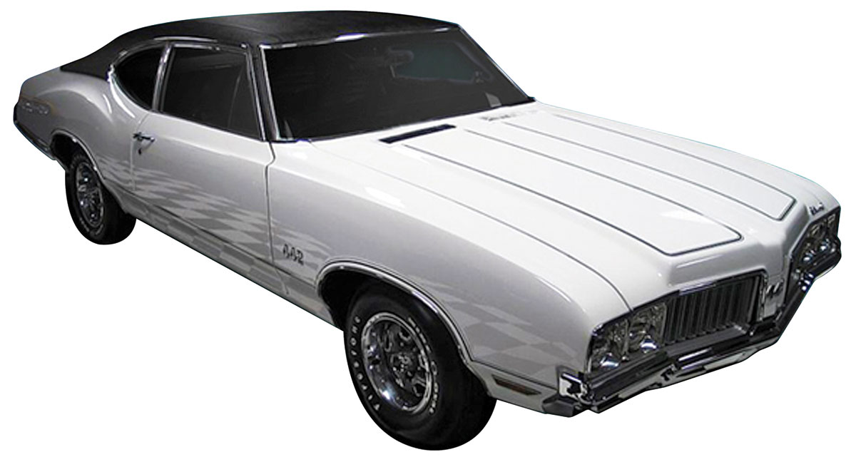 Decal Kit, 1970 Cutlass, Y73 Body Stripes