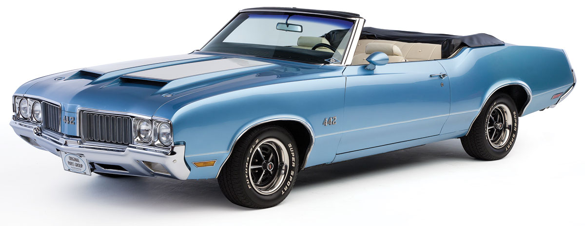 Decal Kit, 1970 Cutlass, W25 Body Stripes