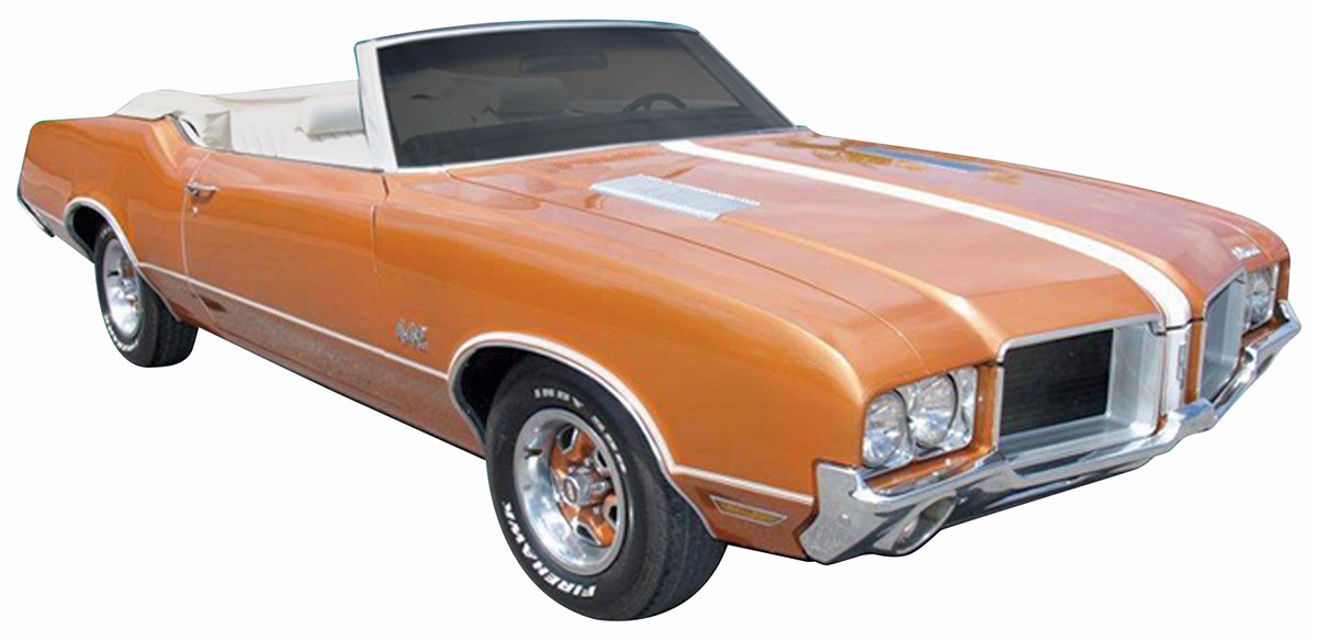 Decal Kit, 1971 Cutlass, Y73 Body Stripes