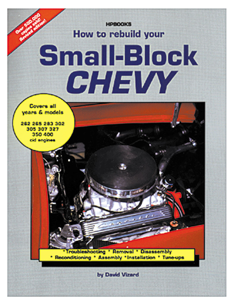 Book, How to Rebuild Small Block Chevy