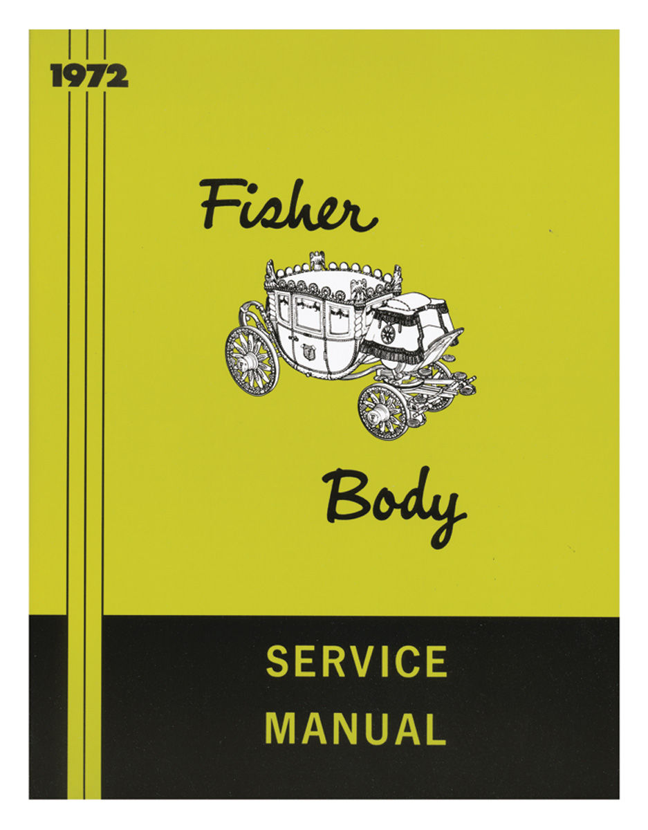 Fisher Body Manual, 1972