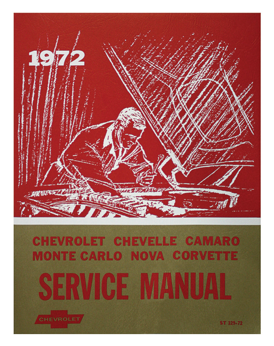 Chassis Service Manual, 1972 Chevrolet