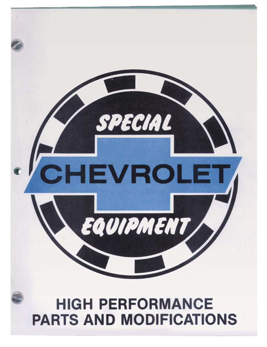 Manual Chevrolet Special Equipment