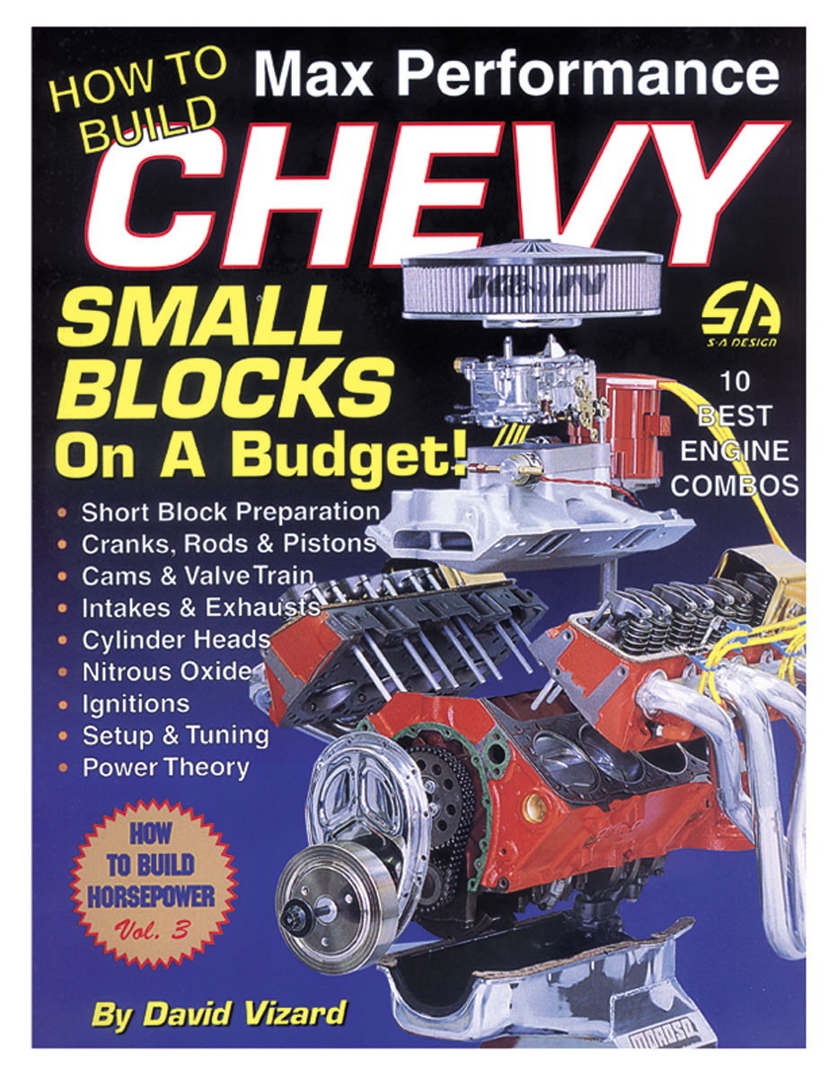 Book, How To Build Max Performance Chevy Small Blocks On A Budget