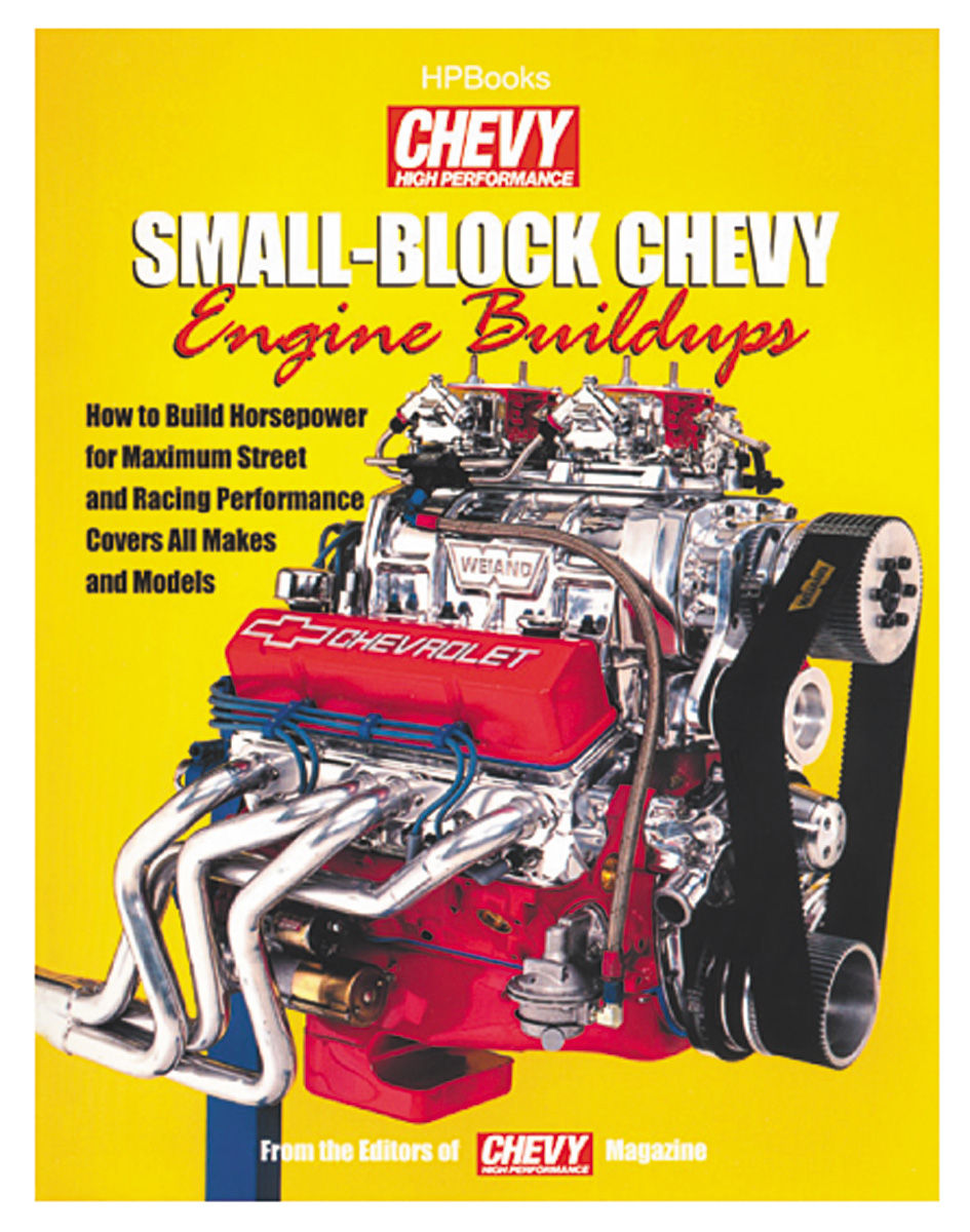 Book, Small Block Chevrolet Engine Buildups