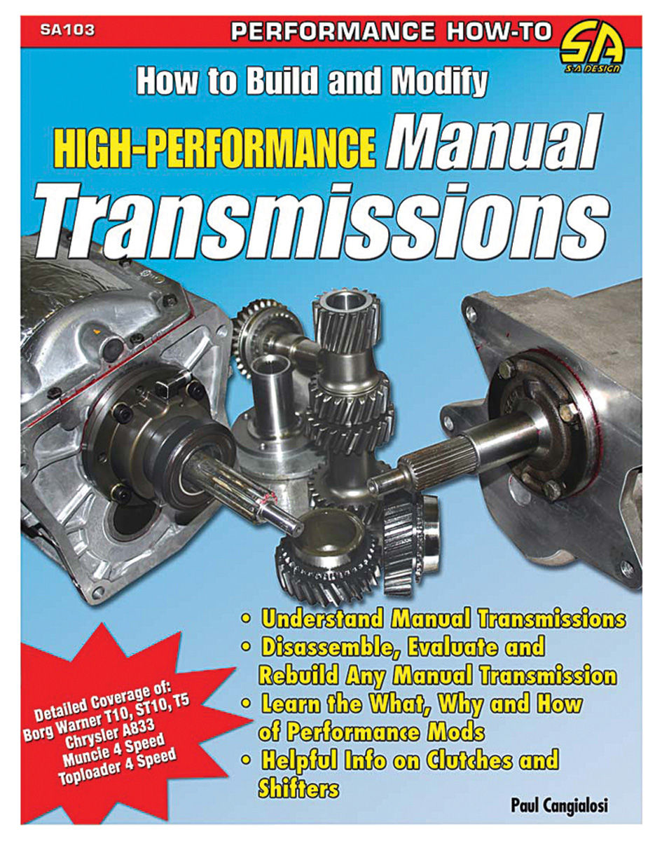 Book, How To Build & Modify High-Performance Manual Transmissions