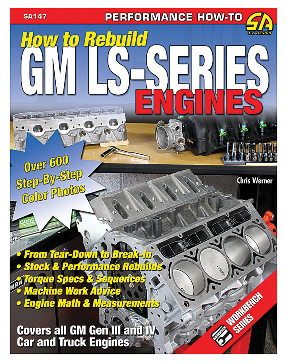 Book, How To Rebuild GM LS-Series Engines