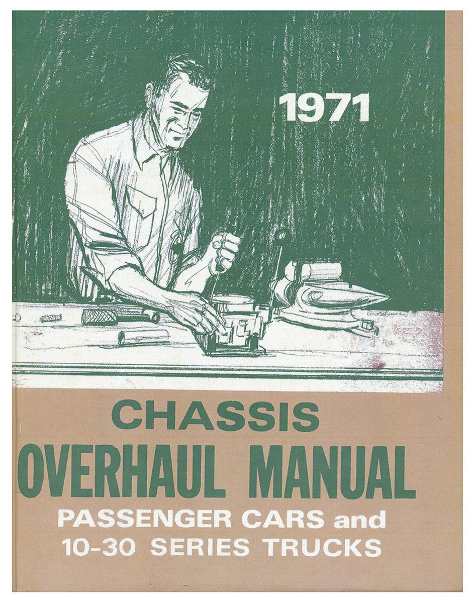 Manual, Chassis Overhaul, 1971 Chevelle/Monte Carlo/El Camino