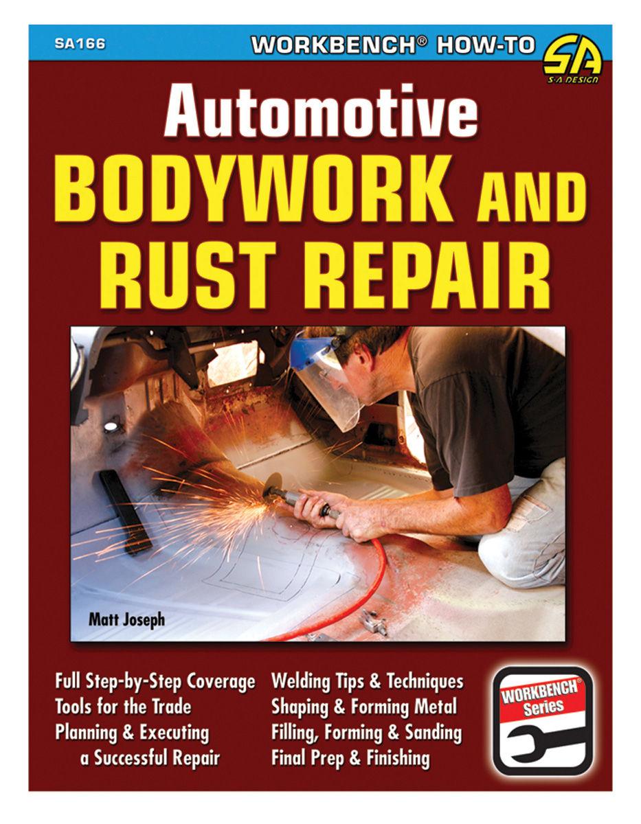 Book, Automotive Bodywork And Rust Repair Manual