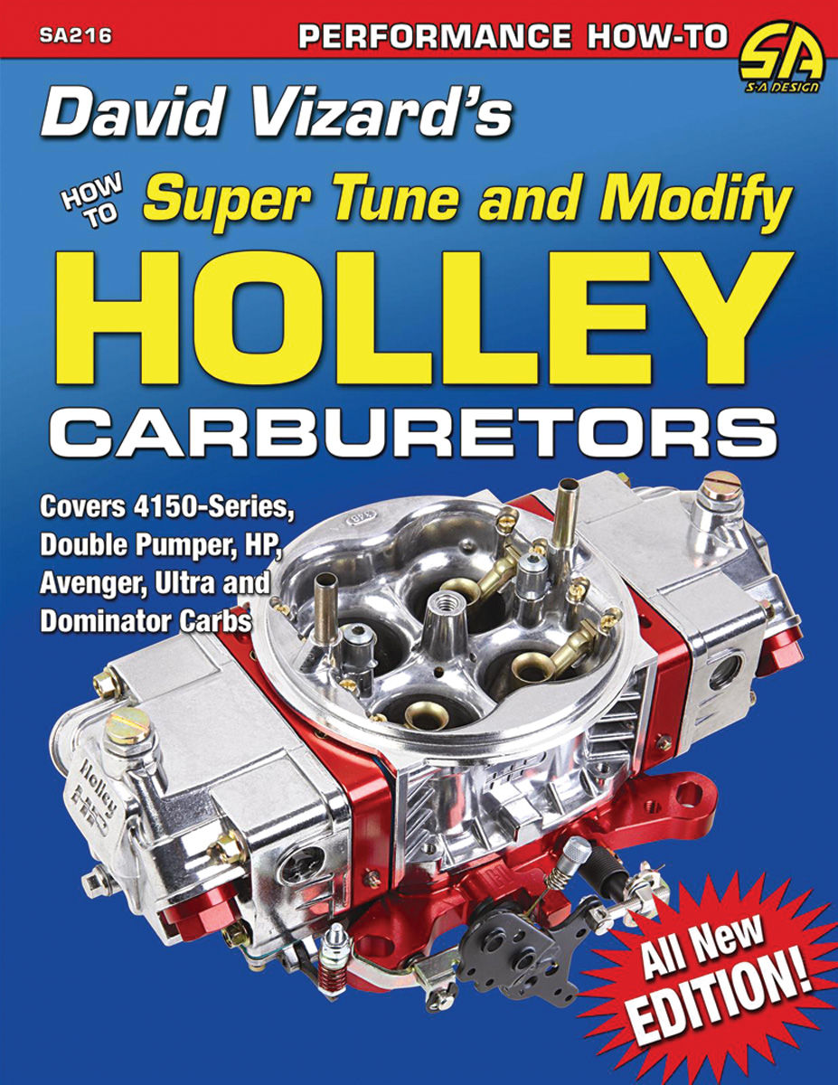 Book, How To Super Tune and Modify Holley Carburetors
