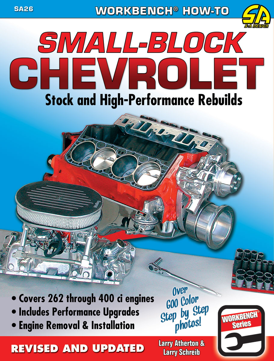 Book, Small-Block Chevrolet - Stock & High Performance Rebuilds