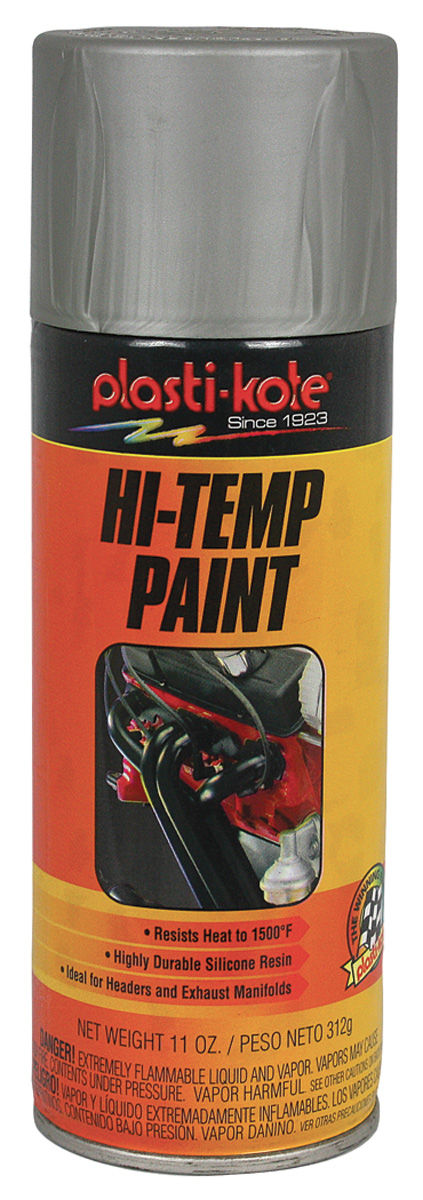 Paint, Hi-Heat, Aluminum, 11-oz.