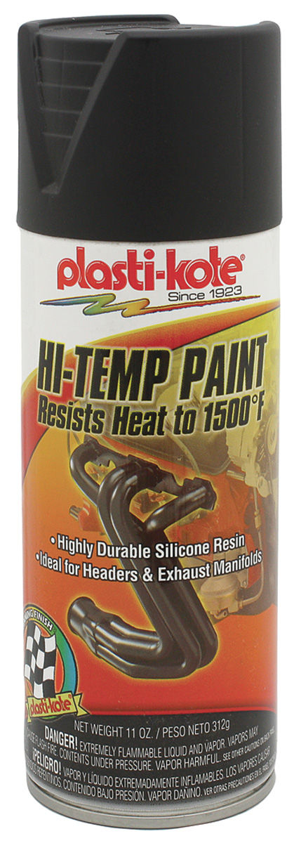 Paint, Extreme Heat, Black, 11-oz.