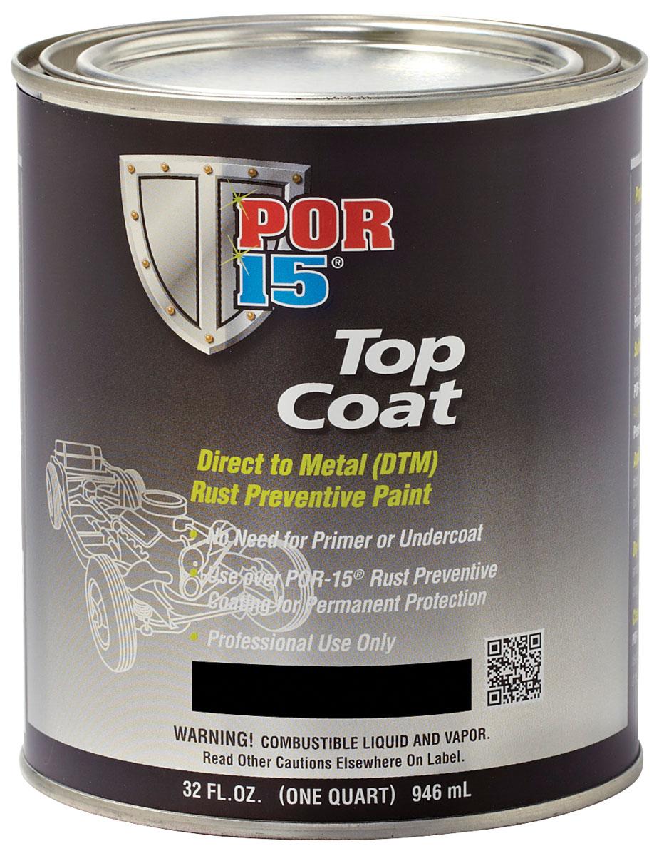 Paint, Top Coat, POR-15, Quart