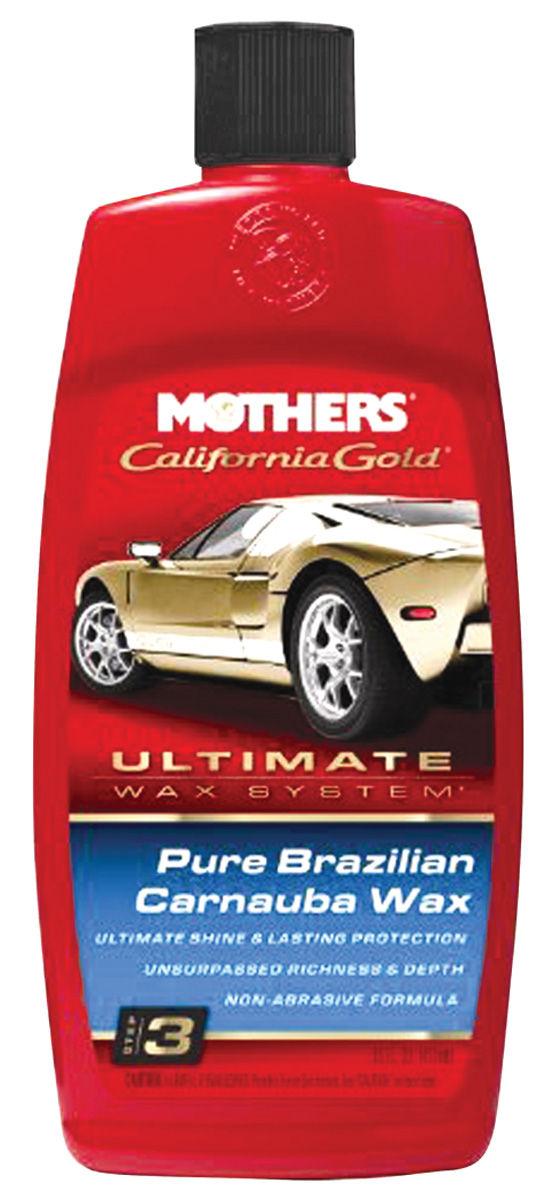 Pure Brazilian Carnauba Wax, Mothers California Gold, 16-oz.