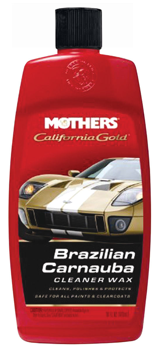 Brazilian Carnauba Cleaner Wax, Mothers California Gold, 16-oz.