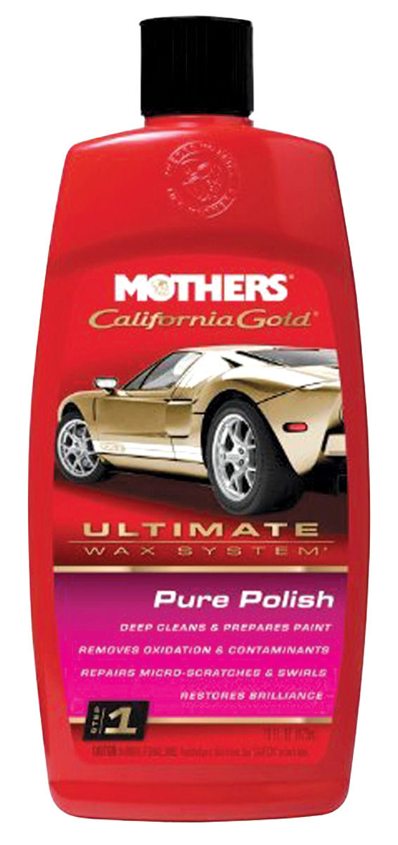Pure Polish, Mothers California Gold, 16-oz.
