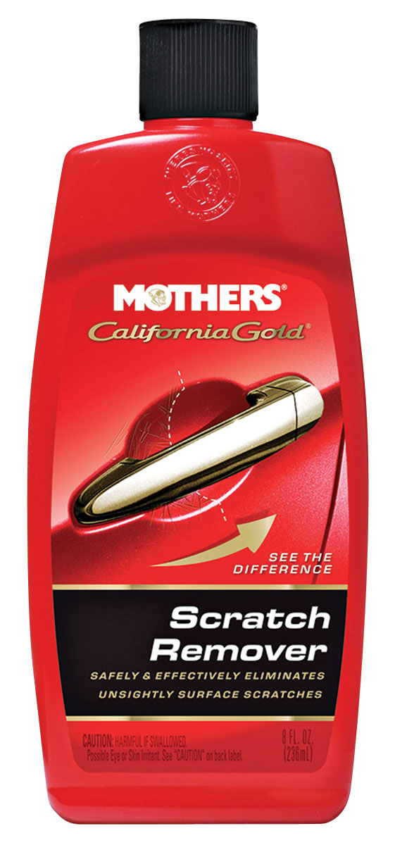 Scratch Remover, Mothers California Gold, 8OZ