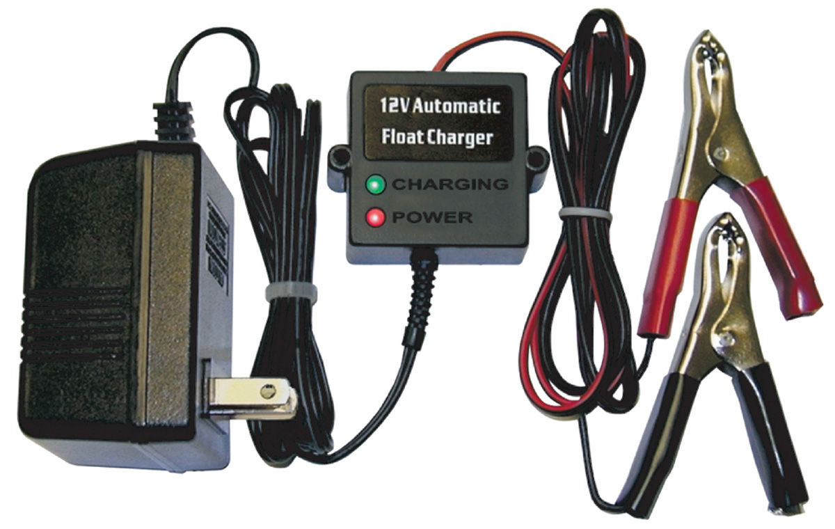 Battery Charger, 12V Auto