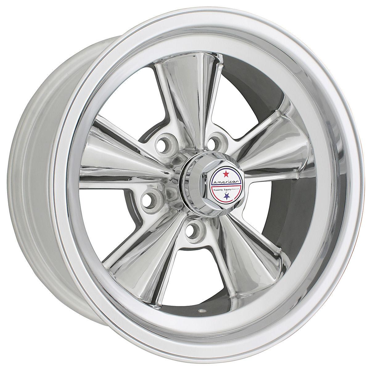 "Wheel, American Racing, T70R, 15"" X 7"", Polished"