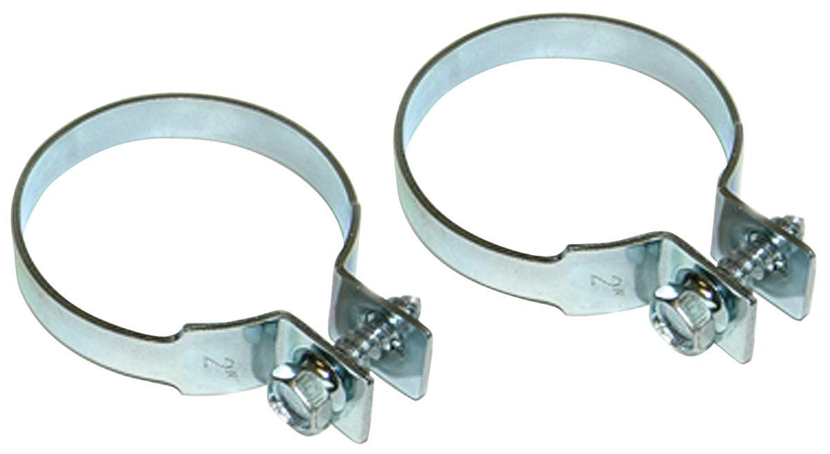 "Clamp, Tailpipe, 1964-72 A-Body, Zinc Plated, 2"" Diameter"