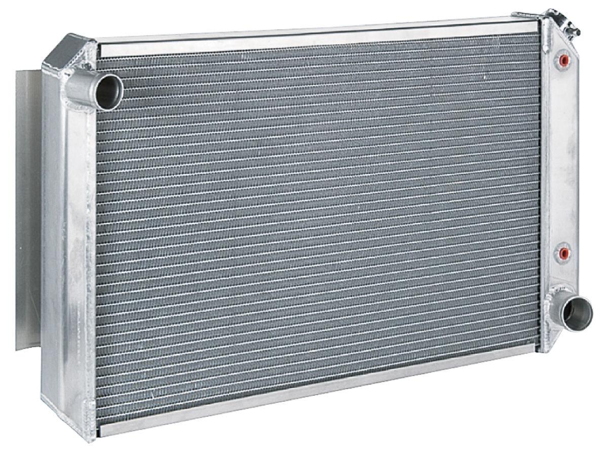 Radiator, Aluminum, Be Cool, 1968-77 SB/BB/Pontiac, Automatic Trans, Satin