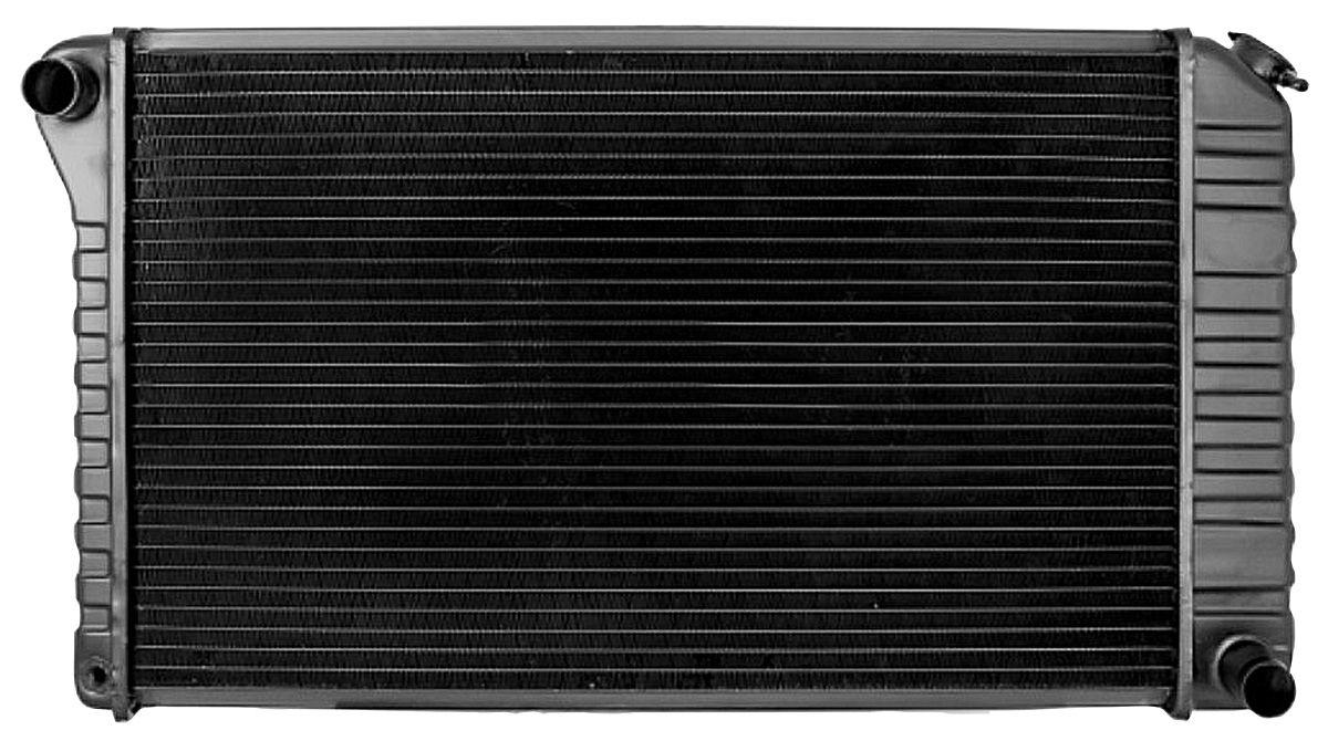 Radiator, Desert Cooler, 1972-76 GM, AT w/AC