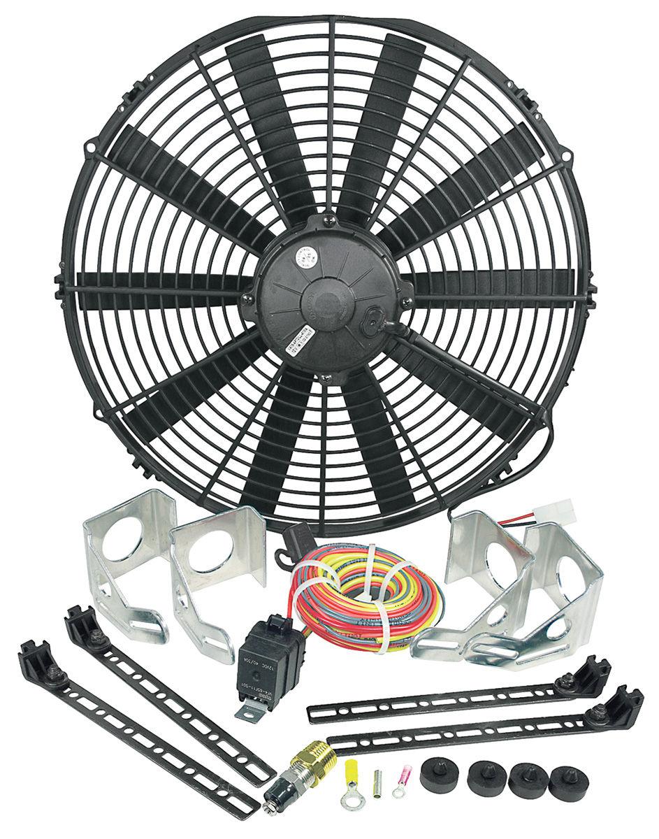 """Electric Fan, Be Cool, 16"""", Black"""