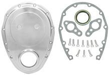 Timing Cover, Aluminum, SB Chevy, Kit