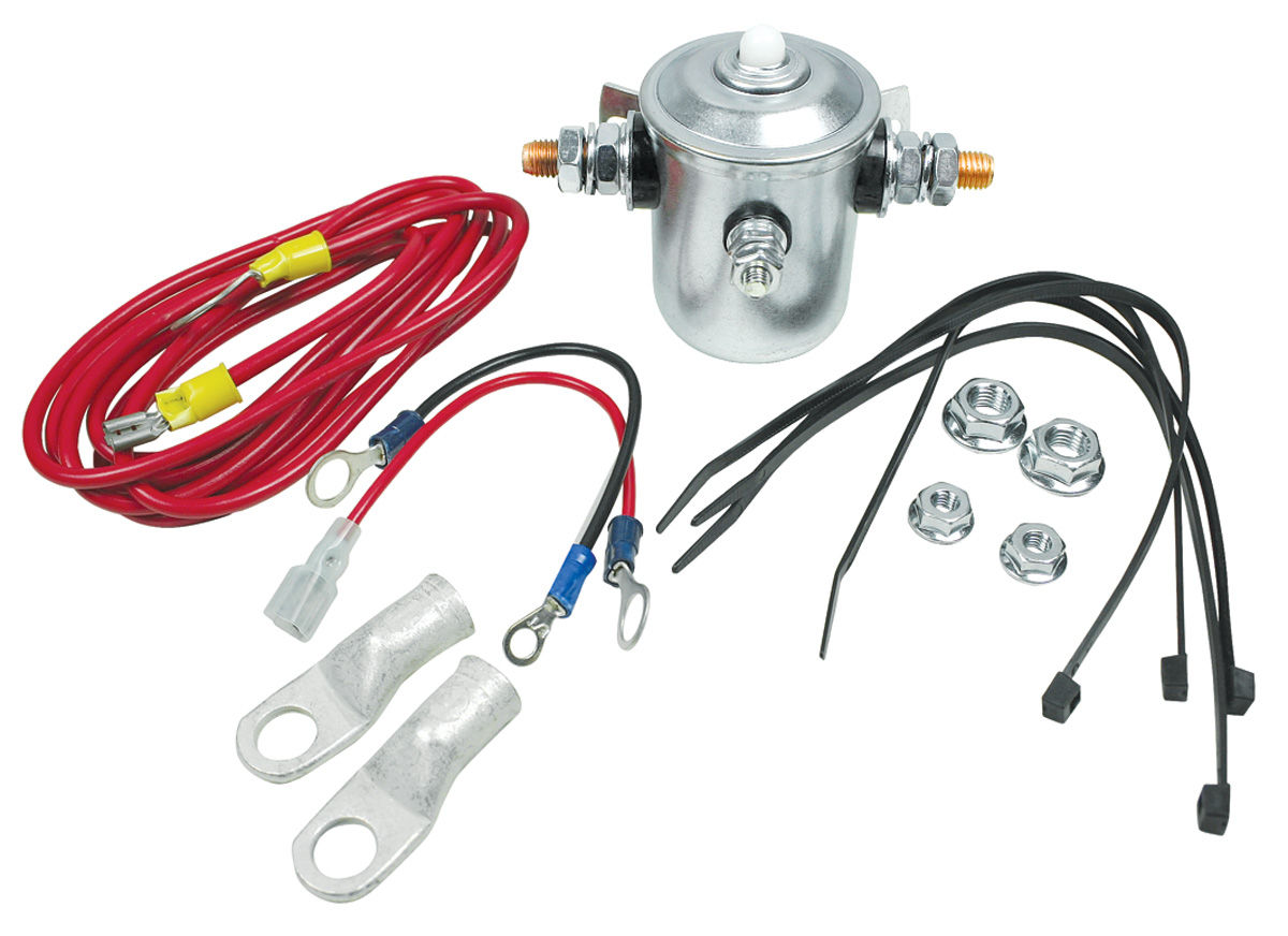 Starter Solenoid, Hot/Bump, Taylor, Kit