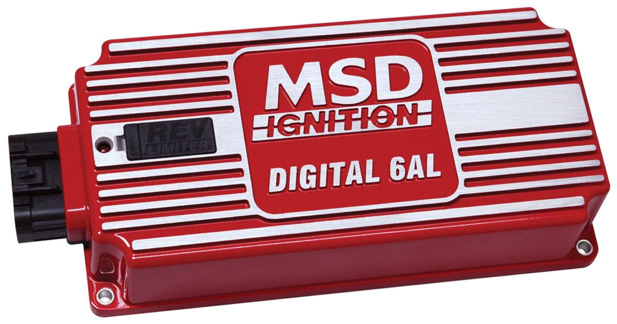 Ignition Control, Box, MSD, Digital 6AL