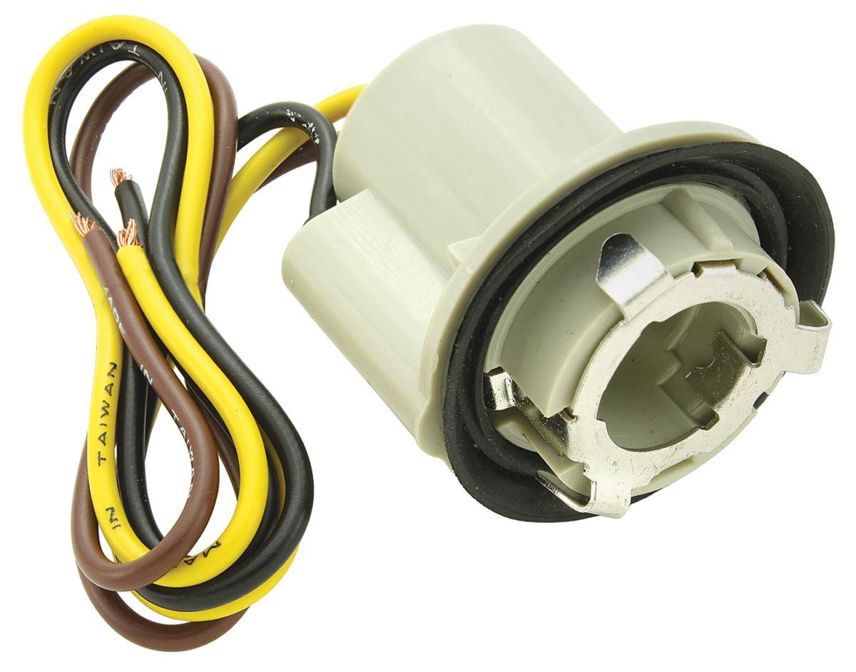 Socket, Park/Tail Lamp, 1967-88, 7/8