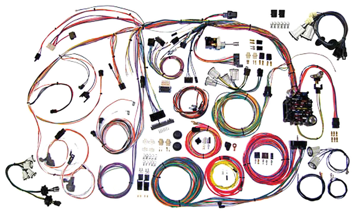 Wiring Harness Kit, American Autowire, Classic Update, 1970-72 Monte Carlo