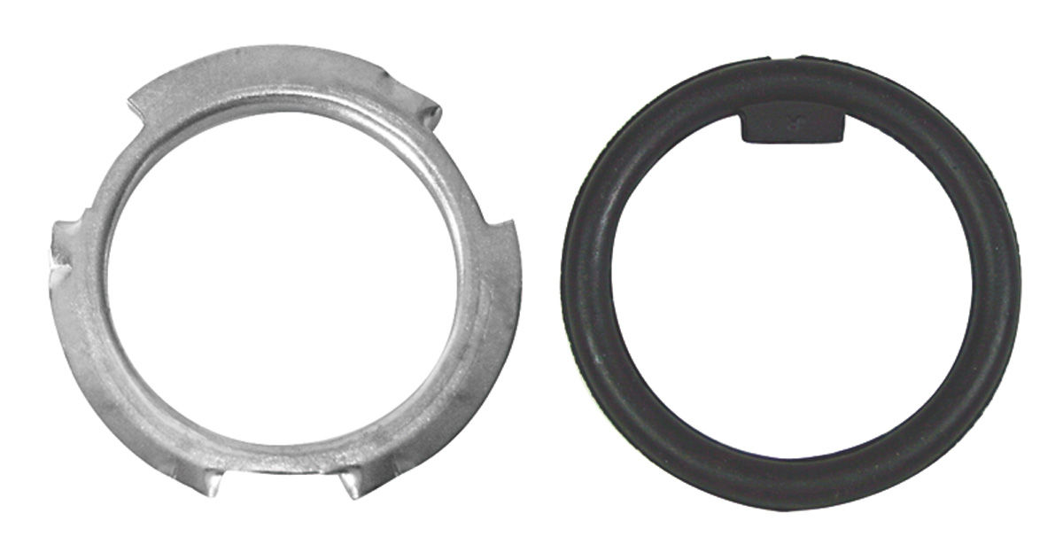 1957-77 SENDING UNIT LOCK RING RETAINER & GASKET