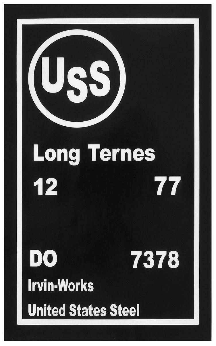 Stencil, Gas Tank, 1977 GM Cars