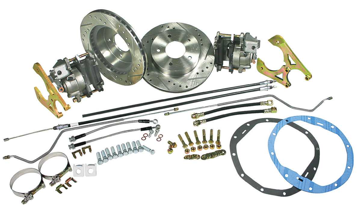 Conversion Kit, Rear Disc, 1968-72 Chevelle/El Camino/Monte Carlo, Deluxe