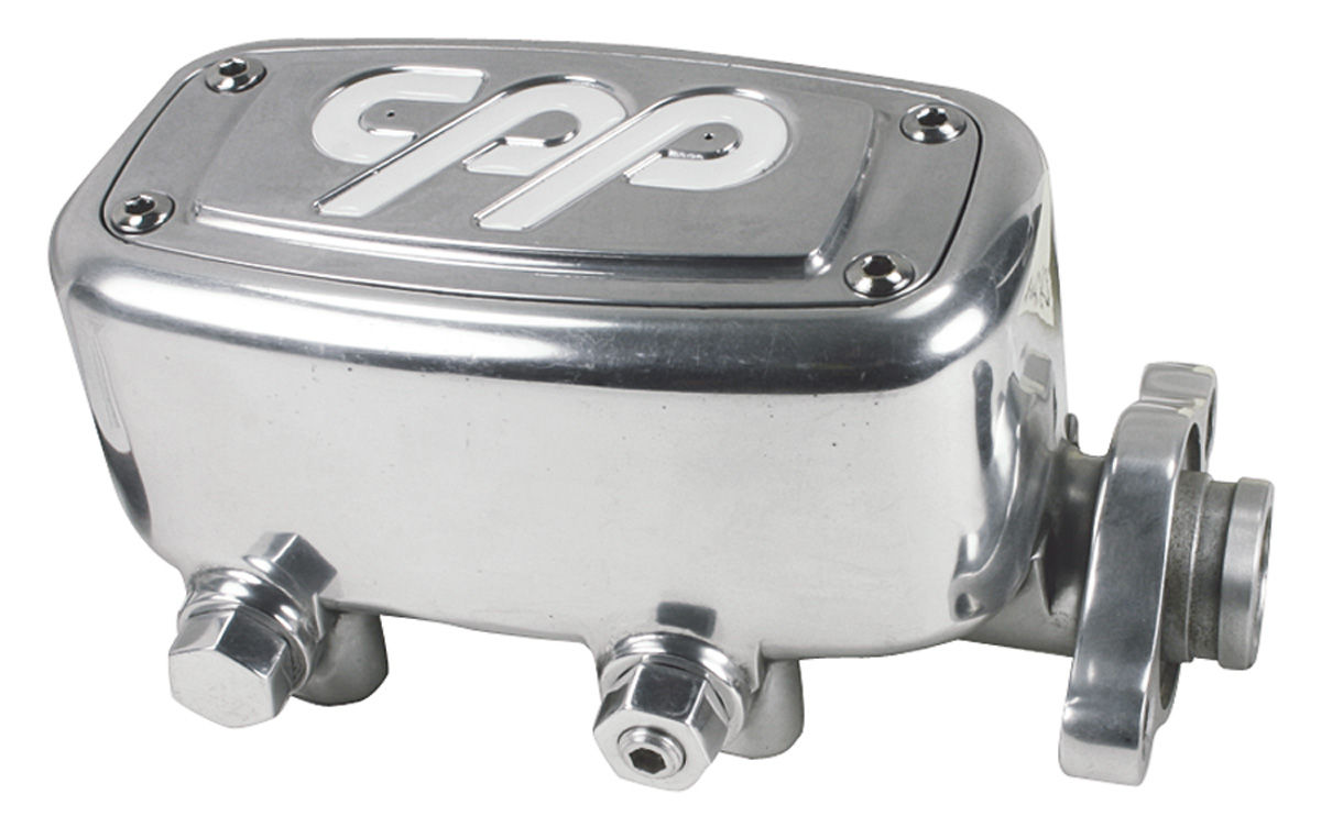 Master Cylinder, MCPV-1, Polished Aluminum, 1