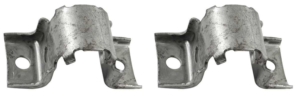 Brackets, Stabilizer Bar, 1964-88 A-Body, OEM Style, Zinc Plated, Pair