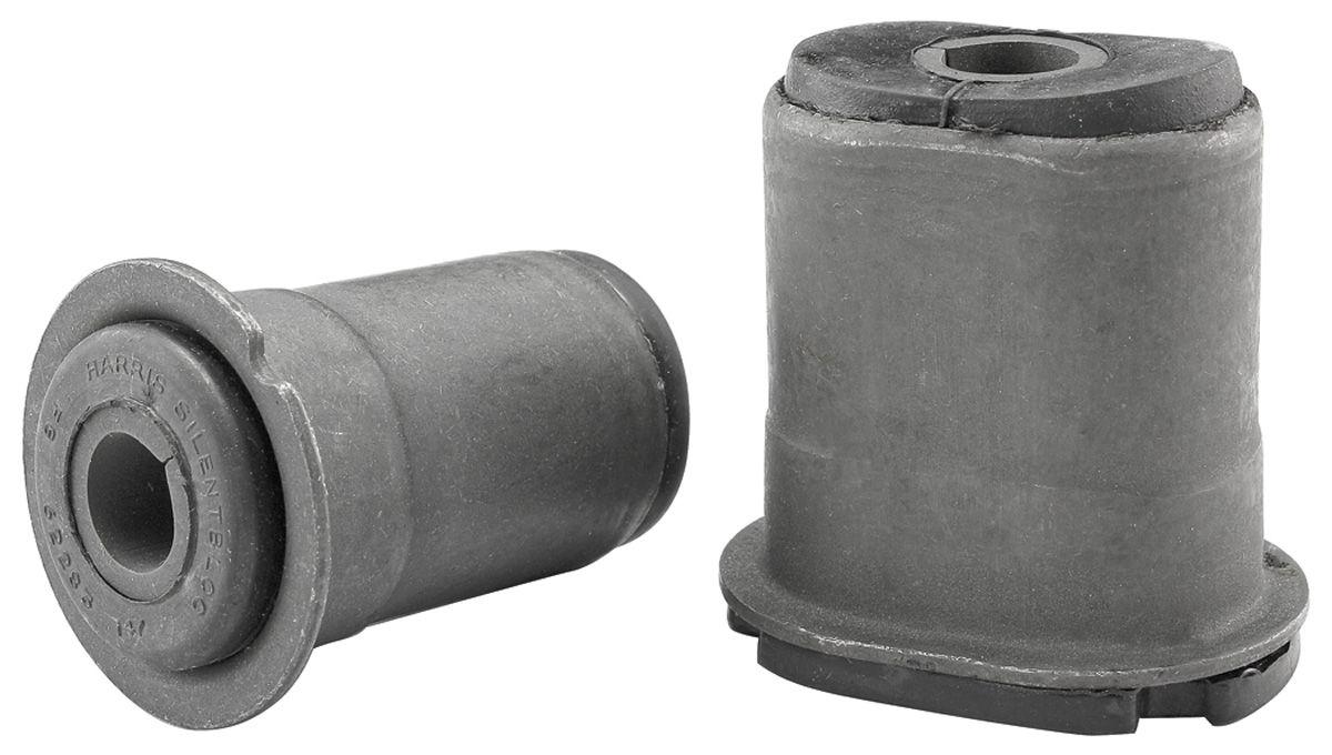 Control Arm Bushings, 1967-72 Front Lower, Oval Rear Bushing