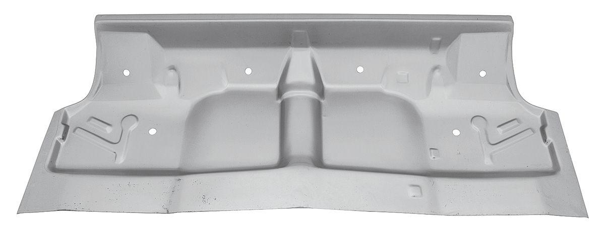 Floor Pan, Rear Underseat, 1968-72 A-Body, USA