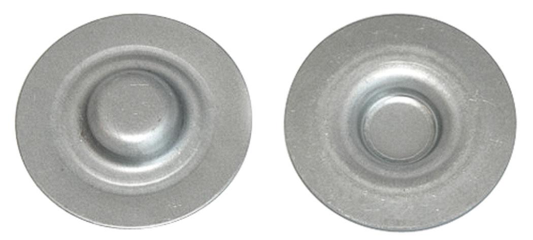 Drain Plugs, Rear Seat Floor Pan, 1968-72 A-Body
