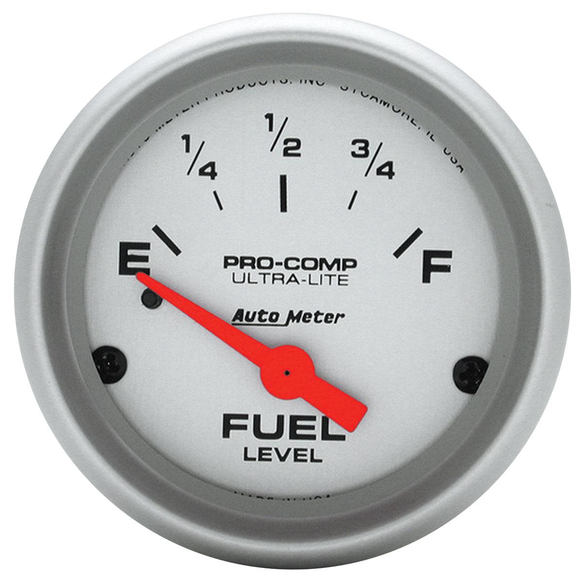 Gauge, Fuel, Auto Meter, Ultra Lite, 2