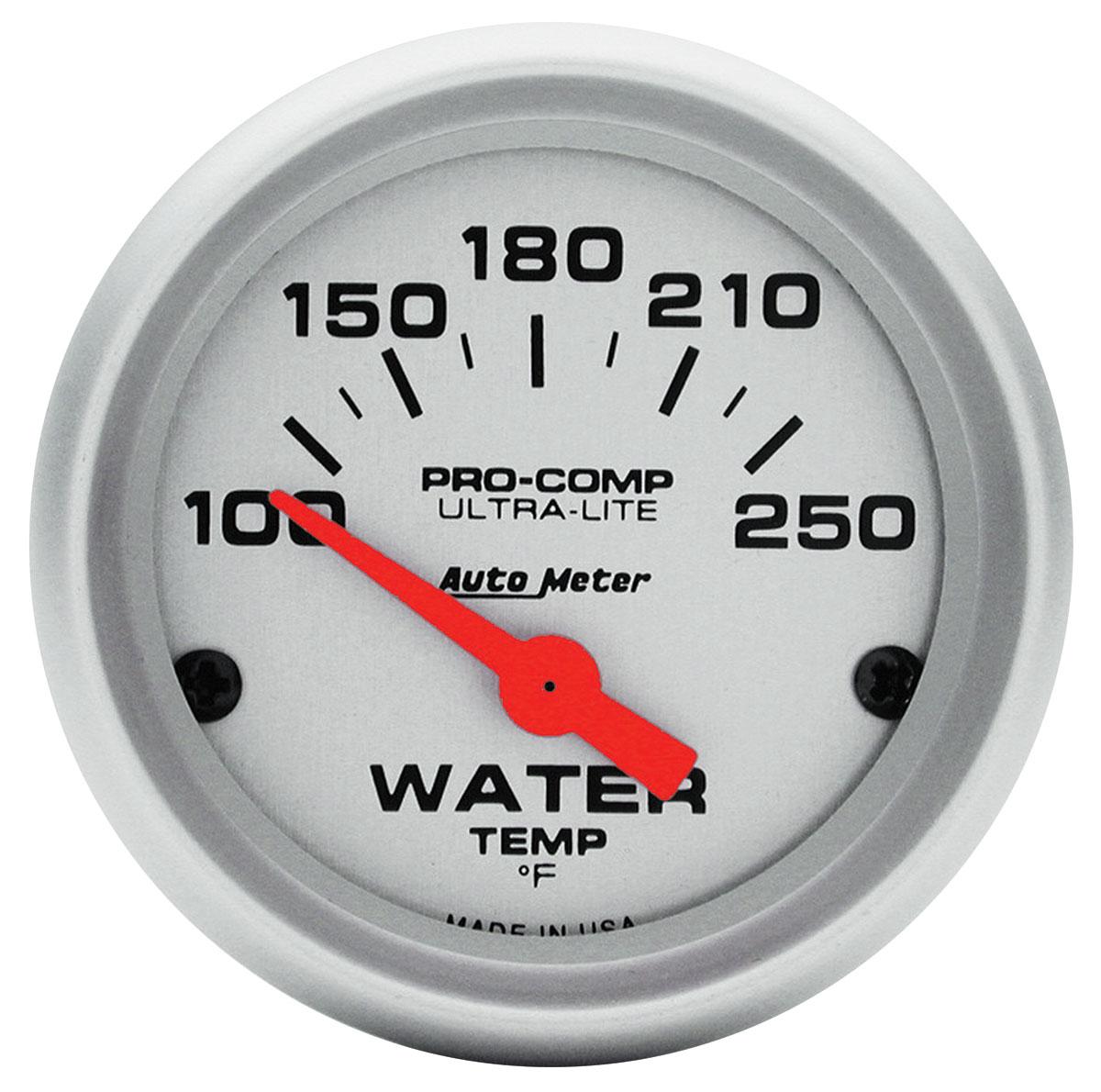 Gauge, Water Temperature, Auto Meter, Ultra Lite, 2
