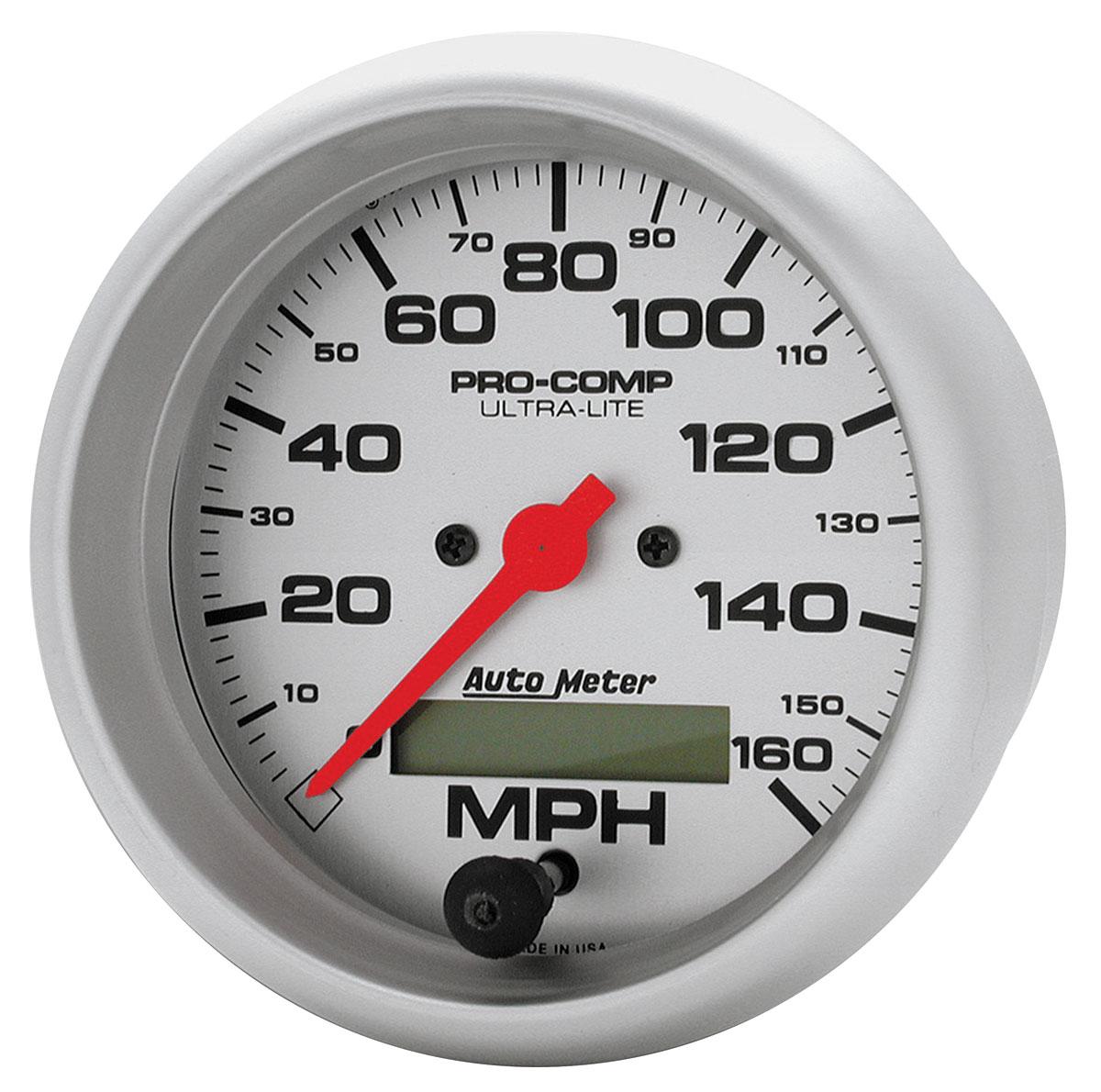Gauge, Speedometer, Auto Meter, Ultra Lite, 3-3/8