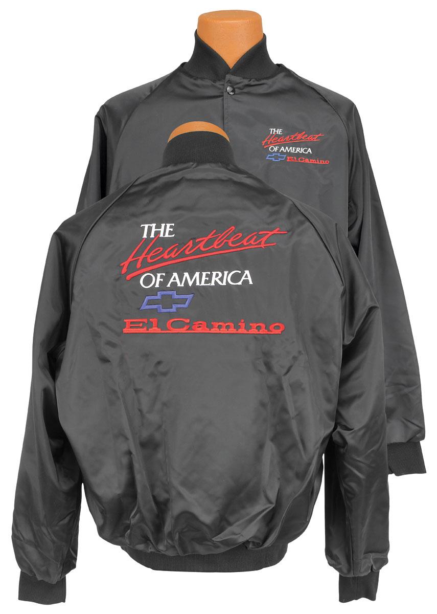 """Jacket, """"El Camino"""" Heartbeat Of America, Black"""